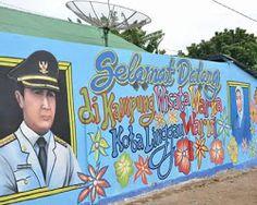Kampung Warna Warni Menjadi Salah Satu Tempat Paporit Wisata Warga