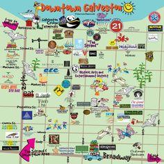 Galveston Fun Maps – Galveston Island Guide