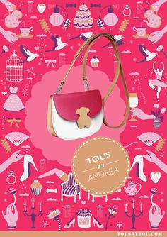 Get inspired and customize your bag the way you love it ! @Tous DC