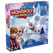Monopoly Junior - La Reine des Neiges