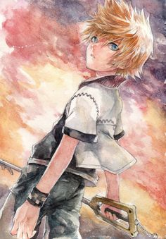One of the best fanarts of Roxas that I have ever seen! *u*