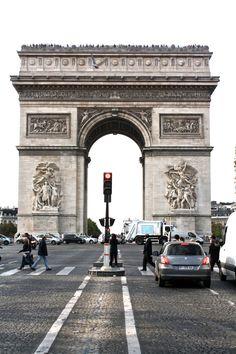 The Arc de Triomphe was so amazing!