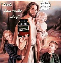 enoch would beef bc this jesus looks like jake gyllenhall #nutritionmeme