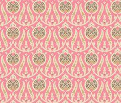 Pomegranate 841a fabric by muhlenkott on Spoonflower - custom fabric