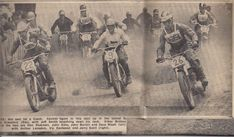 Vintage Motocross, Teenage Years, Grand Prix, Father, Hero, British, Pictures, Painting, Character