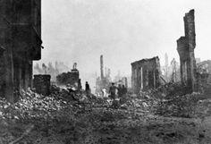 Hamburg in ruins