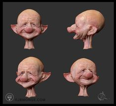 Studies for Skin 3D- ZBRUSH, Jean-Baptiste Monge on ArtStation at https://www.artstation.com/artwork/lDzAk