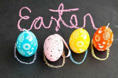 4 Easter Craft Ideas for Your Kids