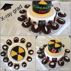 Radiology tech graduation cake!!! Loved it!!!