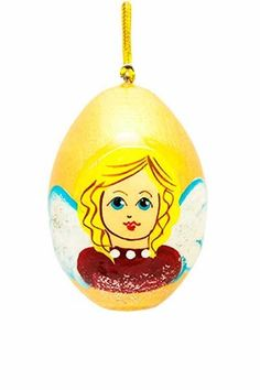 Angel Egg, $6.00, Catalog of St Elisabeth Convent. #CatalogOfGoodDeed #egg #handmade #church #Christianity #buy #order #online #angel. http://catalog.obitel-minsk.com/ministry