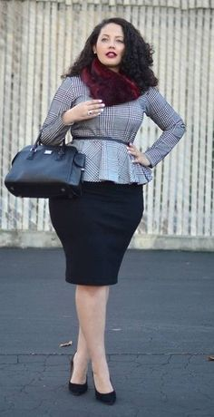 plus size interview outfits - Google Search