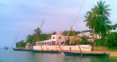 Dhows with peponi in the back ground