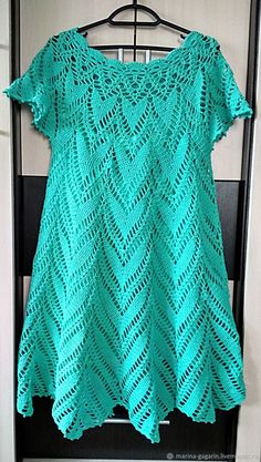 Crochet Dress Full Pattern and Tutorial Crochet Tunic, Crochet Art, Crochet Clothes, Free Crochet, Crochet Patterns, Crochet Jacket, Crochet Summer Dresses, Crochet Skirts, Crochet Humor