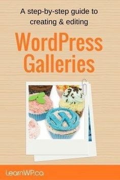 Often WordPress beginners get frustrated with how many clicks it takes to create a default WordPress gallery and they're concerned that they won't remember how to do it when they try on their own.  Here we walk you through each click step-by-step.