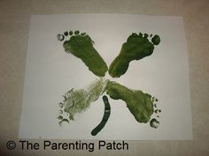 Footprint Four Leaf Clover