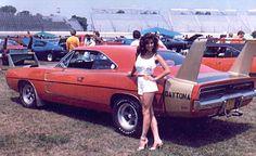 1969 Dodge Daytona and a 1970 Superbird - Information on collecting cars - Legendary Collector Cars Dodge Daytona, 1969 Dodge Charger Daytona, Dodge Muscle Cars, Automobile, Mopar Girl, Car Girls, Up Girl, Vintage Cars, Super Cars