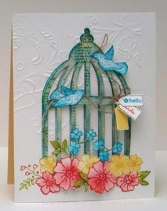 hello card by Sylvia Nelson