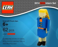 Then she created her own packaging | Community Post: This Girl Made Her CV Out Of Lego And Put The Rest Of Us To Shame