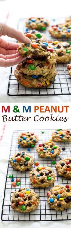 Monster M & M Cookies