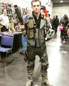 On instagram by celticzombie #thunderdome #gabbermadness (o) http://ift.tt/1TBPgSB far one of my favorite costumes at #SacAnime this past weekend. This guy nailed it. From the music box to the can of dog food to the leg brace. The details were outstanding. #melgibson #cosplay #costume #madmax #georgemiller  #maxrockatansky #sacanimewinter