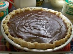 All time Favorite CHOCOLATE CREAM PIE by Freda