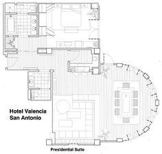 hotel suite floor plans | Celebrated San Antonio Suites