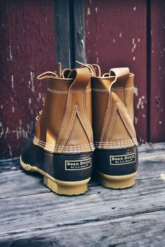 Bean Boots - Perfect for those bad weather days.