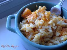 Butternut squash makes a delightfully sweet risotto. White Truffle, Truffle Oil, Butternut Squash Risotto, Truffles, Asparagus, Sweet, Recipes, Food, Candy