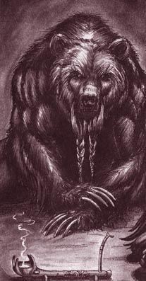 A Gurahl, werebear.