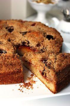 DAMLA ÇİKOLATA: Mürdüm Erikli Kıtır Kaplamalı Kek