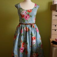 View details for the pattern The 50's petticoat on BurdaStyle.