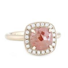 Sugarloaf Rosecut Diamond Ring