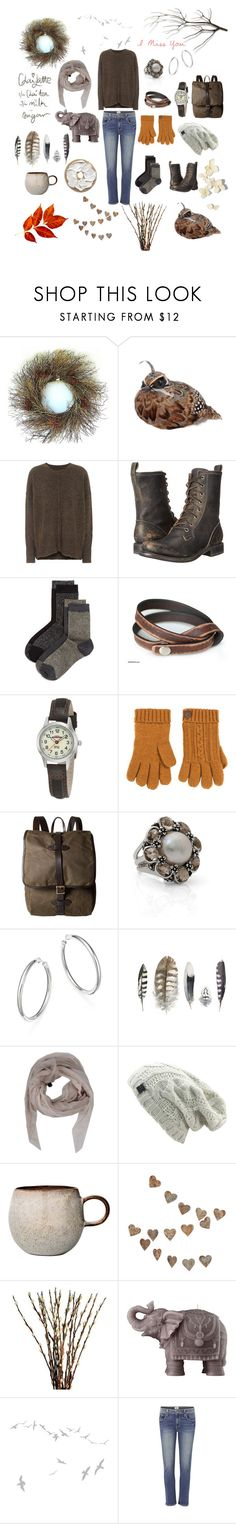"""""""Q is for..."""" by owlgirl5 ❤ liked on Polyvore featuring Frontgate, Étoile Isabel Marant, Frye, Pretty Polly, NOVICA, Timex, BEA, DUBARRY, Filson and Stephen Dweck"""