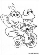 Muppet Babies coloring pages https://m.facebook.com/aimeebestmousetalestravel