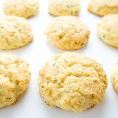 These buttery garlic parmesan biscuits are low carb, gluten-free, and extremely easy to make.