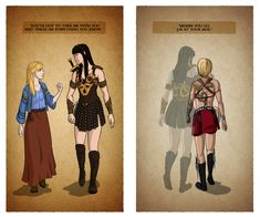 Xena - First and Last by fortheloveofpizza on deviantART