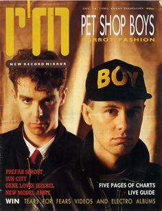Pet Shop Boys, Record Mirror, UK, Deleted, magazine, , 14 DECEMBER 1985, 608023
