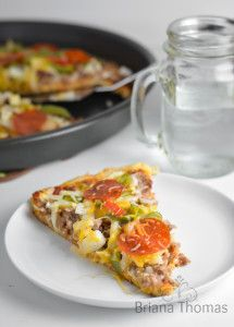 Low Carb Pizza Crust uses Briana's Low Carb Baking Mix Entree Recipes, Healthy Eating Recipes, Low Carb Recipes, Healthy Eats, Healthy Life, Low Carb Pizza, Low Carb Diet, How To Cook Sausage, Crust Recipe