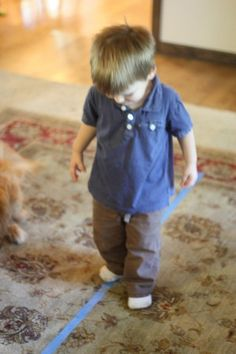 Toddler Time: Walk the Line - - Pinned by #PediaStaff.  Visit http://ht.ly/63sNt for all our pediatric therapy pins