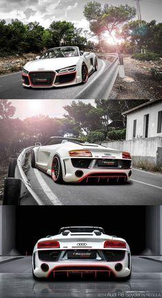 2014 Audi R8 V10 by REGULA tuning  #RePin by AT Social Media Marketing - Pinterest Marketing Specialists ATSocialMedia.co.uk