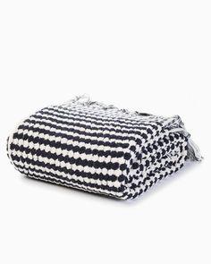 OFS Turkish Terry Bath Towel - Black