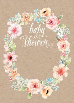 Dainty Floral Baby Shower Ideas And Inspiration | Tiny Prints, Floral And  Inspiration
