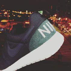 huge discount ecf11 41d9d Nike Roshe One Retro Rosherun Black Grey Mens Running Shoes Sneakers  819881-001