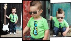 ~Green Tie Onesie  Pick Your Tie Bodysuit for baby by:WeChooseJoy on Etsy~
