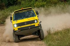 Syncro  - Yellow Car Vw T3 Doka, T3 Vw, Vw Vanagon, Transporter T3, Volkswagen Transporter, Vw T1 Camper, Vw Beach, Auto Volkswagen, Overland Truck
