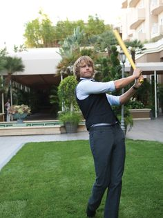How this Eric Christian Olsen brings a bit of handsome, humor and humanity to CBS' hit drama NCIS: Los Angeles