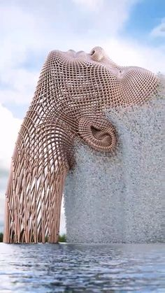 Incredible sculptures by Chad Knight look so good that many people think . - Incredible sculptures by Chad Knight look so good that many people think they are real - Instalation Art, Interaction Design, Wow Art, 3d Artist, Futuristic Architecture, Kinetic Architecture, Amazing Architecture, Public Art, Knight