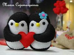 Pinguinos de amor ❤