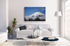Now available   http://thousandface.myshopify.com/products/mount-fuji-canvas-japan-blue-sky-mountain-landscape-wall-art-picture-home-decor?utm_campaign=social_autopilot&utm_source=pin&utm_medium=pin