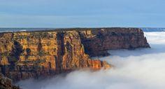 gran canon del colorado arizona usa nubes